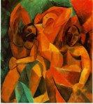 სამი ქალი, Tree Womans. 1907-08. Pablo Picasso