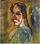 Buste de Demoiselle d'Avignon. Summer 1907. Pablo Picasso