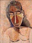 შიშველი ქალი - Nude, 1907, Pablo Picasso