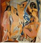ავინიონელი ქალები - Les Demoiselles d'Avignon, 1907; Pablo Picasso