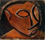 Tete d'homme. Winter 1907-8. Pablo Picasso