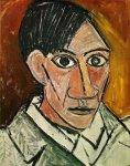 ავტოპორტრეტი - Autoportrait. Pablo Picasso. 1907