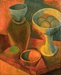 Cruche et compotier. Spring 1908. Pablo Picasso
