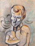 ბიჭი გადაჯვარედინებული ხელებით, 1908. Pablo Picasso