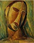 Tete de femme. Fall 1908. Pablo Picasso