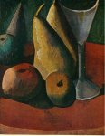 Verre et fruits. Fall 1908. Pablo Picasso