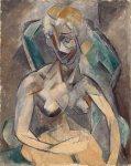 ახალგაზრდა ქალი, 1909. Pablo Picasso