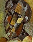Tete. Winter 1908-9. Pablo Picasso