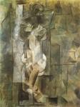 Nude. Pablo Picasso. 1910