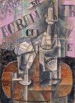 1912, პერნოს ბოთლი, Pablo Picasso