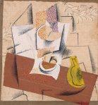 1914, კომპოზიცია გაჭრილი ვაშლით, Pablo Picasso