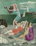 1918, მობანავენი, Summer, Pablo Picasso