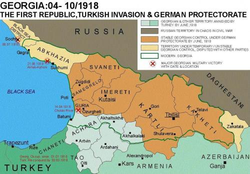 საქართველო - 1918 წ.