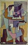 La table. 1919. Pablo Picasso