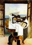 La table devant la fenetre. Summer. 1919. Pablo Picasso