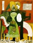 სიყვარული - Les amoureux, 1919. Pablo Picasso