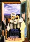 1919, Nature morte devant une fenetre a Saint-Raphael, Pablo Picasso