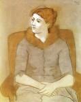 1923, ოლგა პიკასო. Pablo Picasso