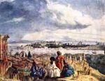 კონსტანტინოპოლის და ოქროს რქის ხედი