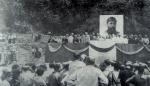 ვაჟა-ფშაველას დაბადების 100 წლისთავისადმი მიძღვნილი საიუბილეო მიტინგი ჩარგალში,1961 წ.