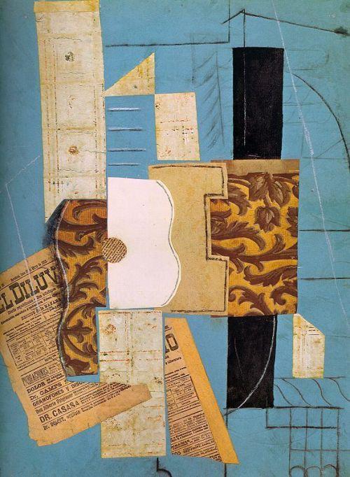 გიტარა -  La guitare. April 1913, Pablo Picasso