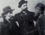 ვაჟა-ფშაველა, შიო მღვიმელი და დიმიტრი მაჩხანელი