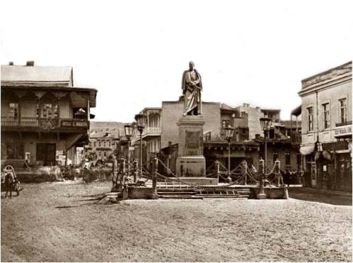 მ. ვორონცოვის ძეგლი, 1880 წ. დ. ერმაკოვის ფოტო