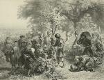 კახეთი, რთველი, 1847
