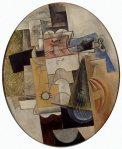 მუსიკალური ინსტრუმენტები - Musical Instruments , 1912, Pablo Picasso