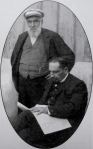 ნიკო ნიკოლაძე და ფოთის გიმნაზიის  დირექტორი ალექსანდრე იაგულოვი