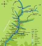 პანკისის ხეობის რუკა