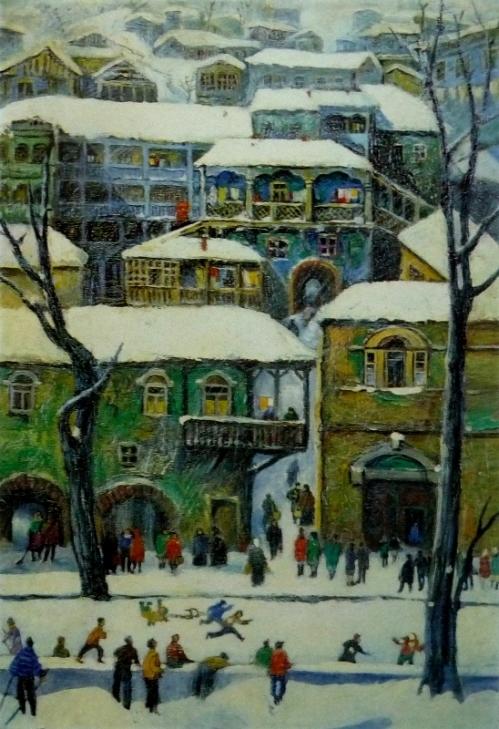 ძველი თბილისი, ელენე ახვლედიანი, 1974