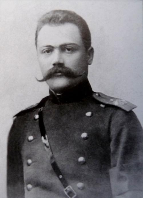 კოტე აბხაზი, 1900 წ.