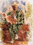 Arlequin a la guitare. 1916. Pablo Picasso