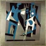 Arlequin et femme au collier. 1917. Pablo Picasso