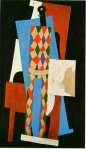Arlequin. Fall 1915. Pablo Picasso