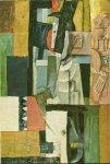Homme a la guitare. Summer 1913. Pablo Picasso