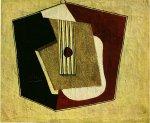La guitare. 1916. Pablo Picasso