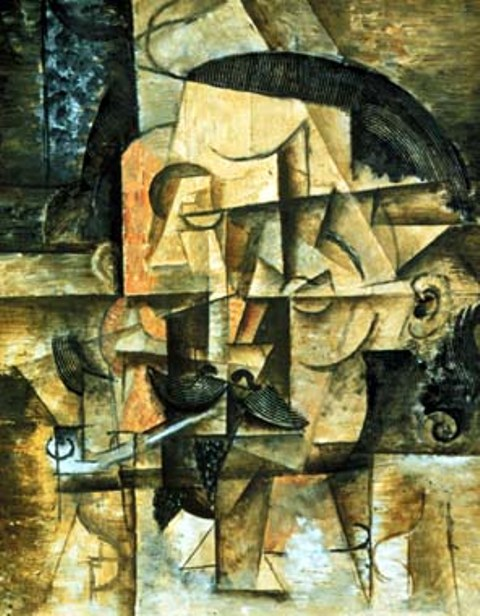 Le poete. Summer 1912. Pablo Picasso