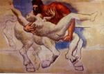 Le rapt (Nessus & Dejanira). 14-September 1920. Picasso