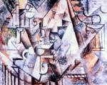 Les echecs. 1911. Pablo Picasso