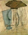 L'etudiant a la pipe. Winter 1913-14. Pablo Picasso