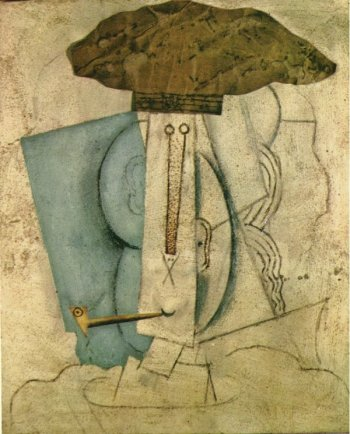 L'etudiant a la pipe. Winter 1913-14. Pablo Picasso