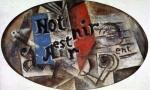 Notre Avenire est dans l'Air. Spring 1912. Pablo Picasso