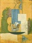 Violon. Winter 1912-13. Pablo Picasso