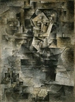 Portrait de Daniel-Henry Kahnweiler. Fall 1910. Pablo Picasso