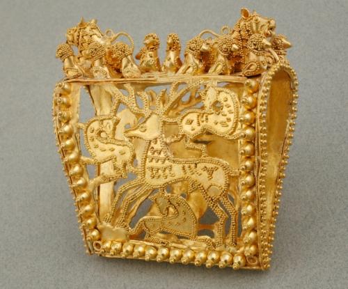 სამკაული, ოქრო, ძვ. წ. 350-300 წ.