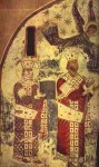 თამარ მეფე და მეფე გიორგი მესამე, ვარძია