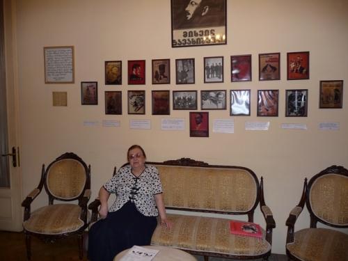 მწერლის ქალიშვილი რუსუდან ჯავახიშვილი