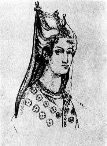როსტომ მეფის მეუღლე დედოფალი მარიამი, ლევან დადიანის და